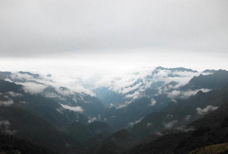 省级风景名胜区---屏山老君山原始次森林